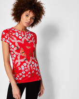 Ted Baker Kyoto Gardens fitted T-shirt