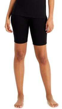 Alfani Modal Soft Stretch Biker Shorts, Created for Macy's