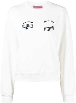 Chiara Ferragni Wink sweatshirt