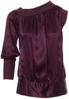 Versus Purple Silk Top for Women