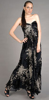 Velvet Burnout Gowns from Laundry by Shelli Segal
