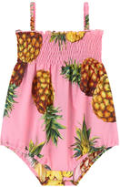 Dolce & Gabbana Pineapple print onesies