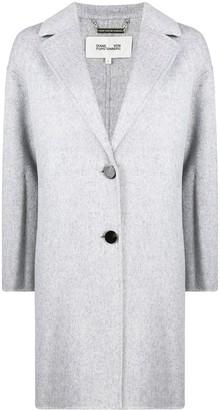 Diane von Furstenberg Single-Breasted Button-Up Coat