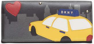 DKNY Bobi Taxi Passport Wallet