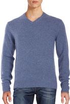 Black Brown 1826 V-Neck Sweater