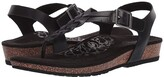 Aetrex Harper (Black) Women's Sandals