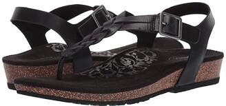 Aetrex Harper (Black) Women's Sandals