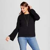 Mossimo Women's Plus Size Bell Sleeve Pullover