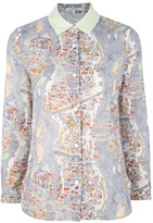 Carven Paris print shirt