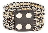 GUESS Women's Black Multi-Chain Friendship Cuff