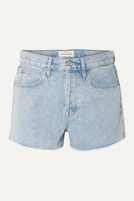 SLVRLAKE Farrah Frayed Denim Shorts