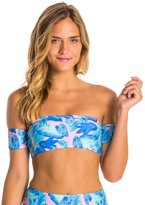 Motel Palm Glitch Alaska Bandeau Bikini Top 8135425