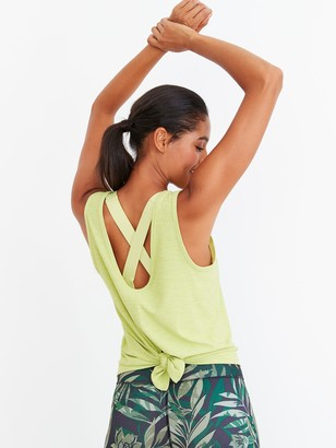 Old Navy Breathe ON Tie-Back Tank Top for Women