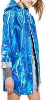 Topshop Women's Iridescent Rain Jacket