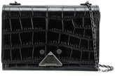 Emporio Armani chain strap shoulder bag - women - Leather - One Size