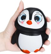 Mishiner Funny Soft Female Penguins Shape Squishy Stretch Slow Rising Relieves Stress Toy Home Decoration Kid Gift