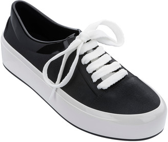 Melissa Shoes Street Rubber Lace Up Sneakers