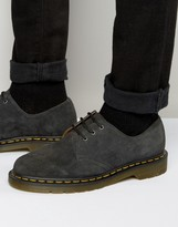 Dr. Martens 1461 3 Eye Suede Shoes