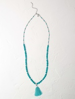 White Stuff South tassel necklace
