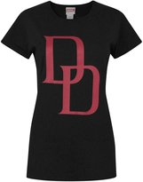 Marvel Official Daredevil Logo Women's T-Shirt (M)