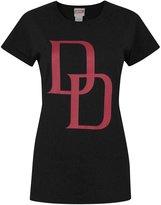 Marvel Official Daredevil Logo Women's T-Shirt (S)