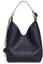 Anya Hindmarch 'The Bucket Circle' small leather hobo bag