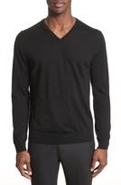 Lanvin Men's Wool V-Neck Sweater