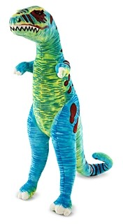 Melissa & Doug T-Rex Giant Stuffed Animal - Ages 0+
