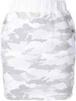 Loveless - camouflage mini skirt - women - Cotton - 34