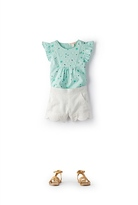 Country Road Broderie Daisy Top