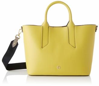 Borbonese Women's 963830H97 Top-Handle Bag Yellow Yellow (GIALLO/OP NATURALE U93)