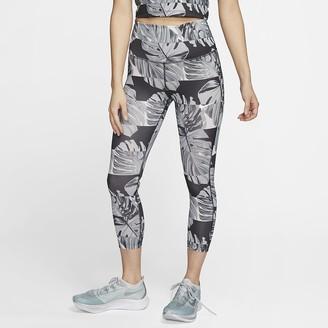 Nike Women's Crop Running Tights Fast