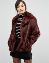 Oasis Boxy Faux Fur Coat