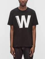 "White Mountaineering W"" Printed S/S T-Shirt"