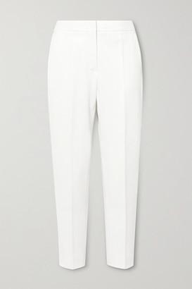 Max Mara Pegno Cady Tapered Pants - White