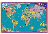 Eeboo Children's World Map