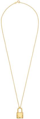 Dear Letterman Gold Demna Pendant Necklace