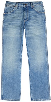 Gucci Light blue straight-leg jeans