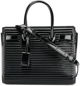 Saint Laurent quilted tote bag