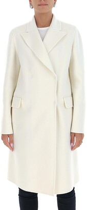 Alberta Ferretti Double-Breasted Coat