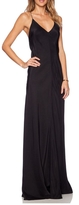 Amanda Uprichard Black Maxi Dress