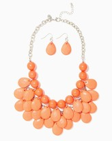 Charming charlie Bright Beads Necklace Set