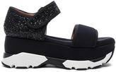 Marni Platform Glitter Sandals