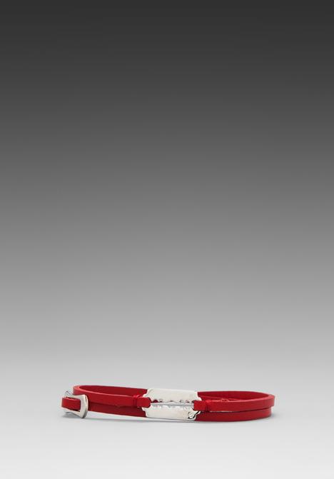 McQ Mini Razor Double Wrap Bracelet