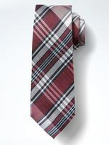 Banana Republic Vintage Plaid Silk Tie