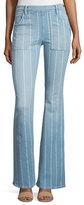 Frame Le Flare de Francoise Striped Jeans, Barrin