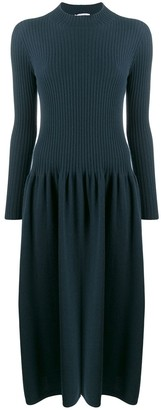 Agnona ribbed sweater dress