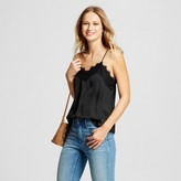 Who What Wear Women's Lace Trim Cami