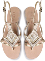 Cocobelle Arrow Beaded Sandal