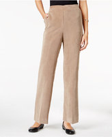 Alfred Dunner Petite Wrap It Up Corduroy Pants